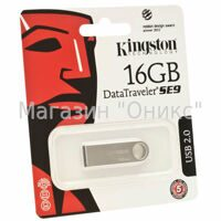 Память флеш/KIN-DTSE9H/16GB/Kingston 16GB USB 2.0 DataTraveler SE9H